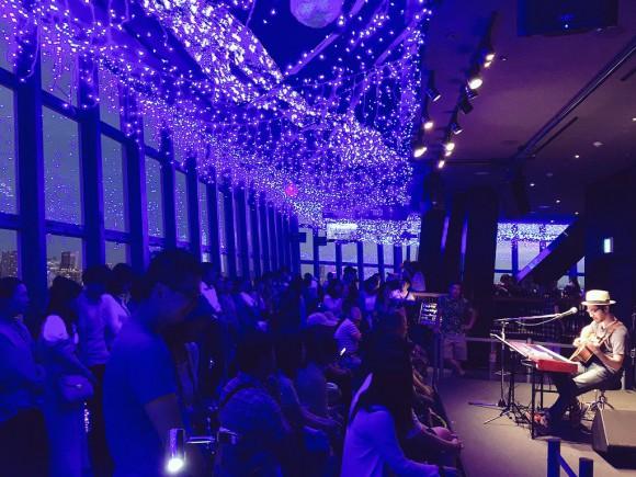 臼井ミトン 東京タワー展望台コンサート Club333