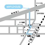 学芸大学メイプルハウス地図